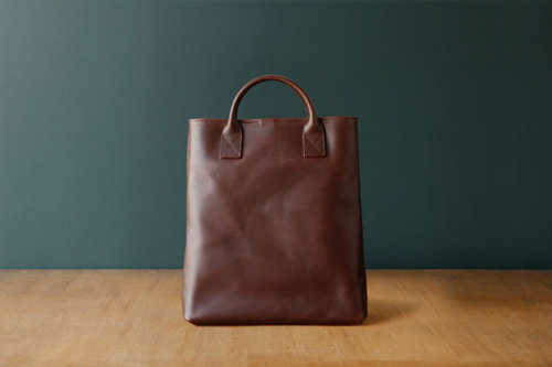 DAY LEATHER TOTE M - SADDLEBROWN