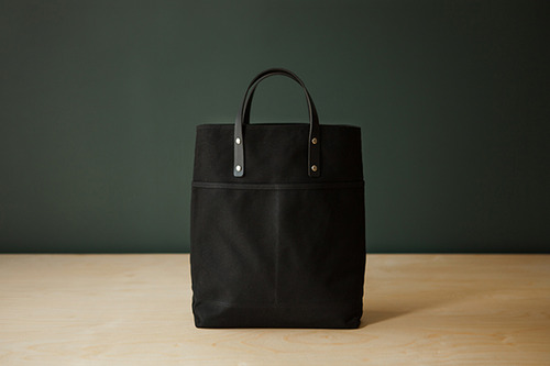 2 WAY TOTE - BLACK