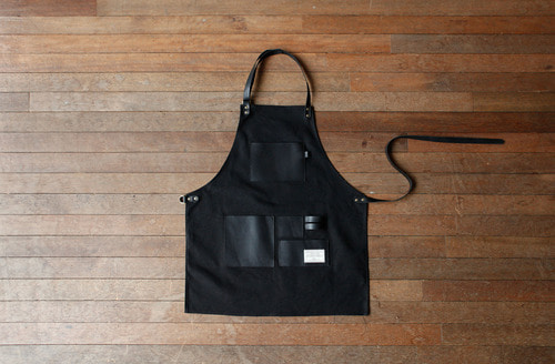 GENTLEMAN'S APRON BLACK